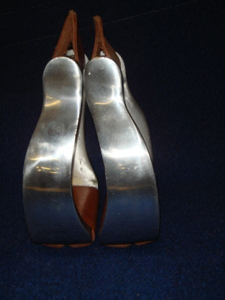 Steigbügel Aluminium gebogene Form