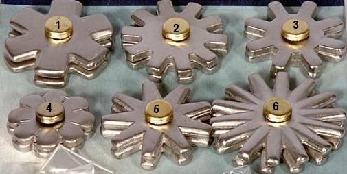 Ersatz - Sporen-Rädchen Metalab