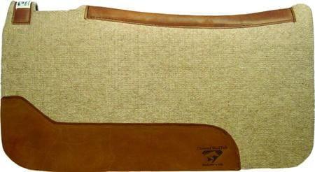 Diamond Wool Contoured Cowboy Pad 1 Inch