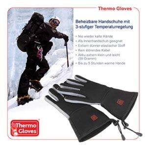Thermo Gloves beheizbare Handschuhe