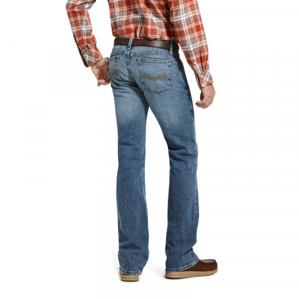 Ariat Mens M7 Rocker Legacy Stretch Boot Cut Jeans
