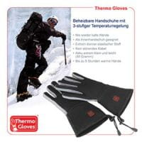 Thermo Gloves beheizbare Handschuhe