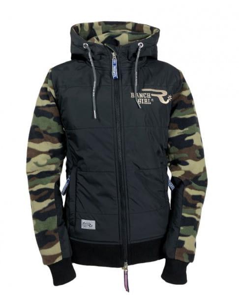 Ranchgirl Polarfleece Pro Shield Jacket Carlee camou/black