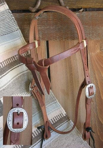 Buckaroo Pro Harness Futurity Kopfstück extrabreit